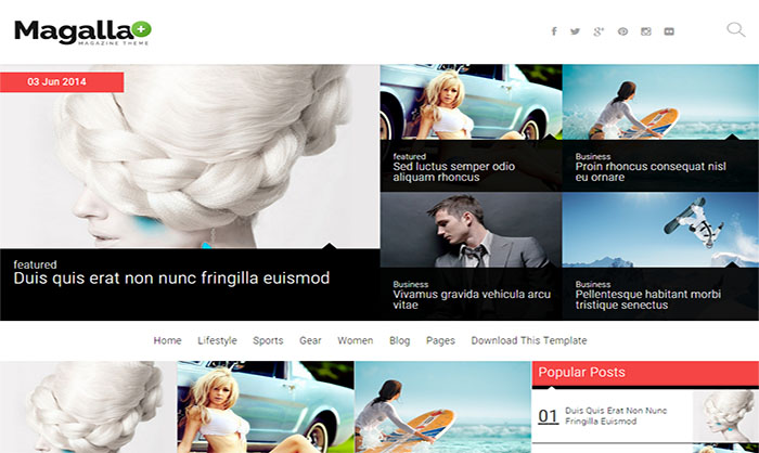 Magalla-Blogger-Template