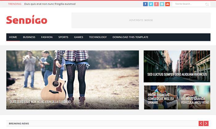 Sendigo-Blogger-Template