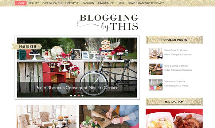 Blogging-Blogger-Template