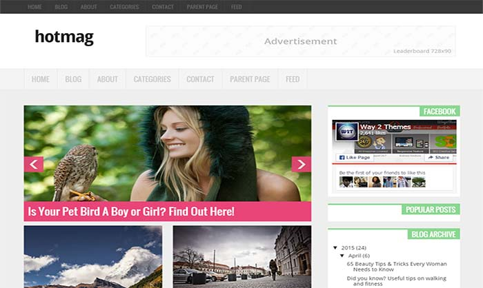 Hotmag-Blogger-Template