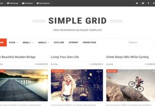 Gallery Blogger Templates 2018 Free Download