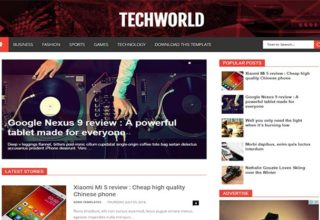 Business blogger templates 2018 free download techworld blogger template accmission Gallery