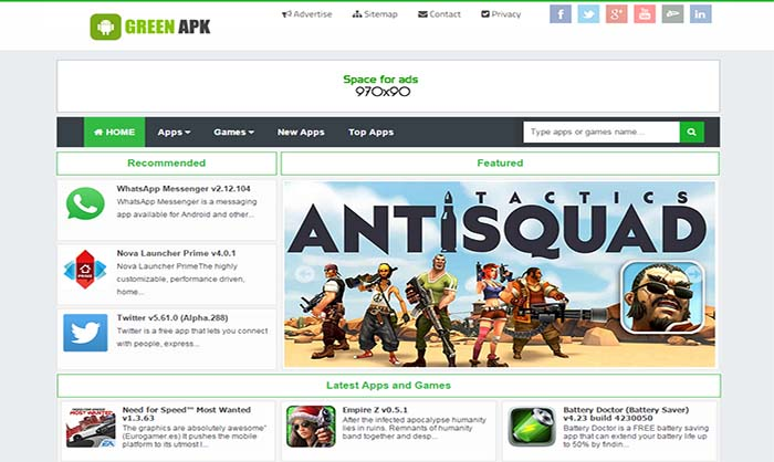Green-APK-Responsive-Blogger-Template