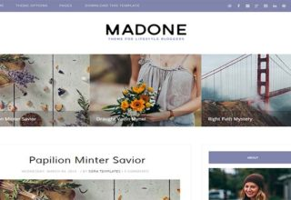 Madome Blogger Template