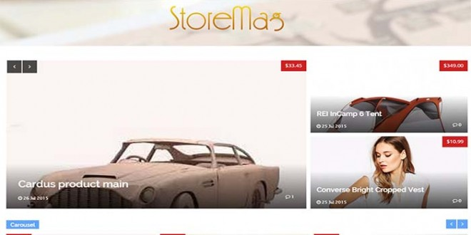 Storemag-Blogger-Template