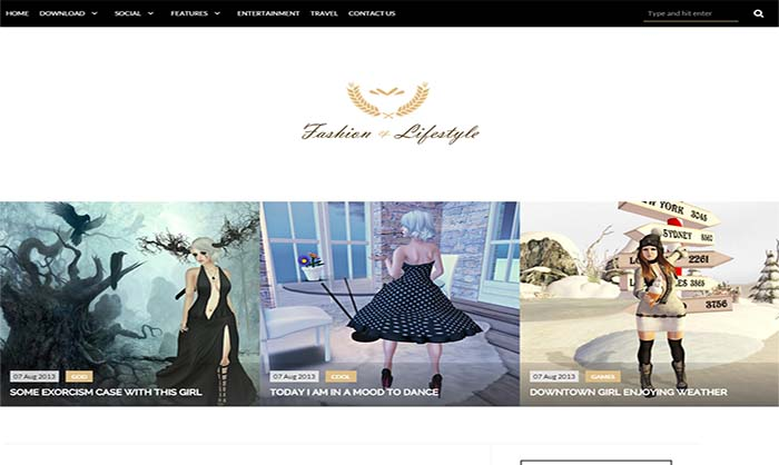 Lifestyle-Blogger-Template