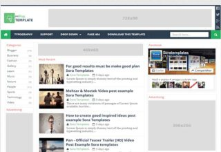 MBlog-Blogger-Template