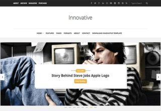 innovative Blogger Template