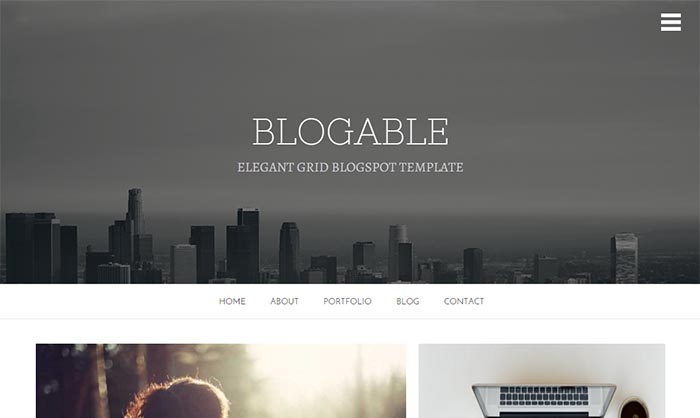 Blogable-Blogger-Template