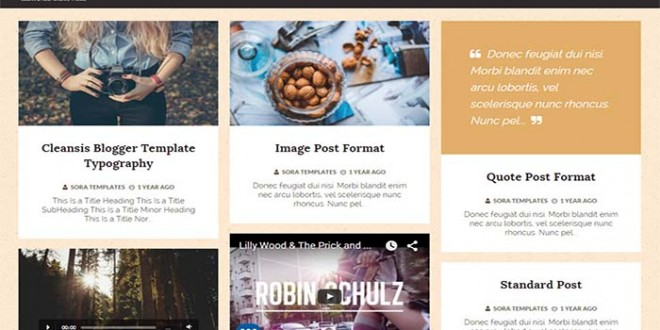 Cleansis-Blogger-Template