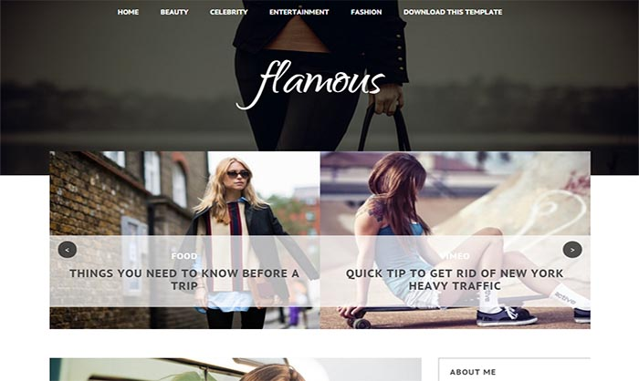 Flamous-Blogger-Template