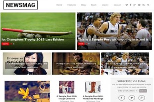 News Mag Blogger Template