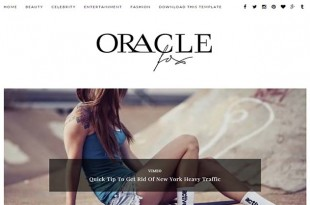 Oracle Blogger Template