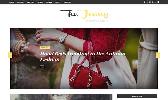 Jenny Blogger Template