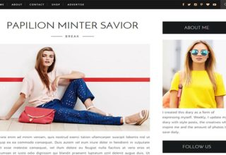 Life Fashion Blogger Template