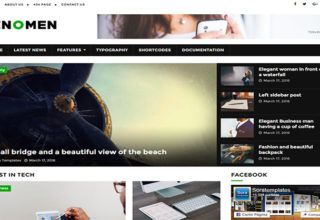 Fenomen Blogger Template