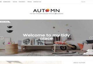 Autumn Blogger Template