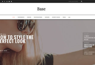 Base Blogger Template