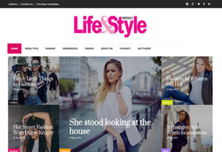 life&style blogger template