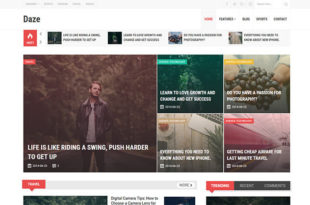 daze blogger template