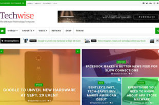 Techwise Blogger Template