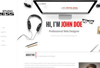 StudioPress Blogger Template