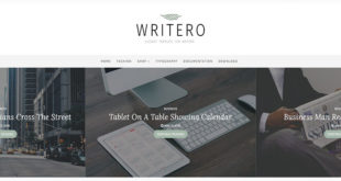 Writero Blogger Template