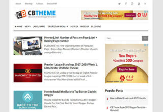 CB Blogger Template
