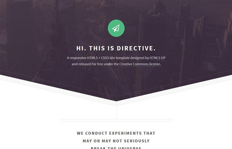 Directive Best Free Responsive