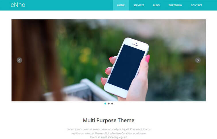 Enno CSS3 Website Template