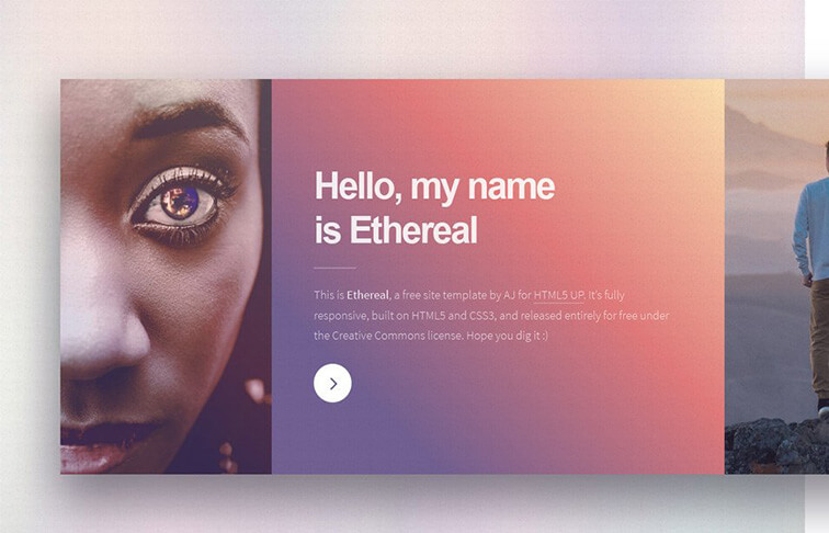 Ethereal Free Responsive