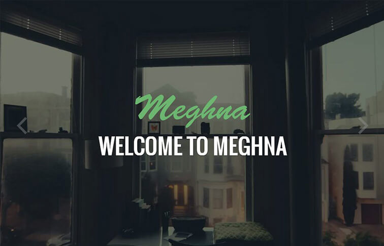 Meghna Responsive HTML5 CSS3