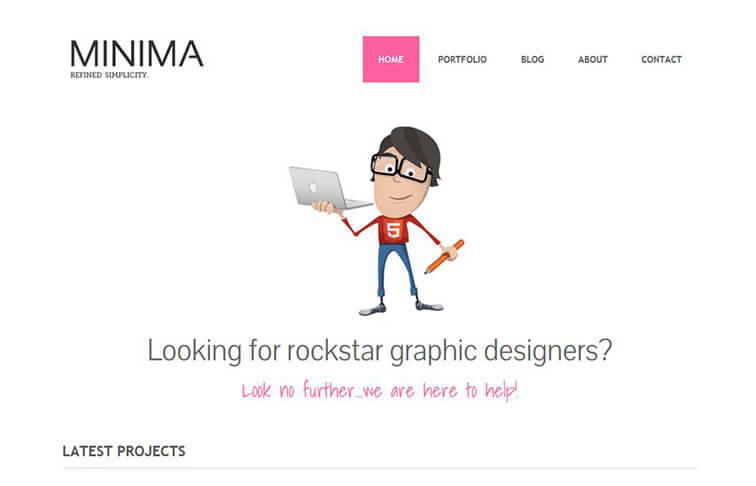 Minima Best Free Responsive HTML5
