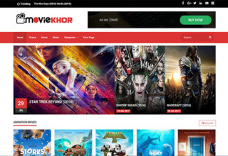MovieKhor Blogger Templates