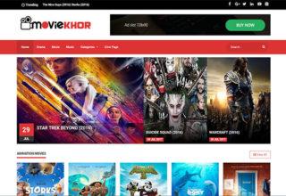 Movies blogger templates 2018 free download moviekhor blogger template maxwellsz