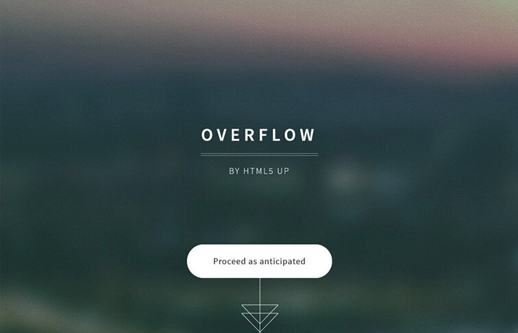 Overflow HTML5 CSS3