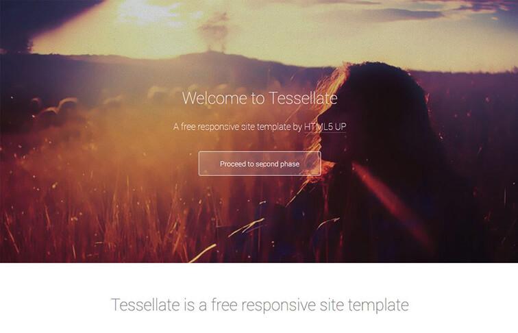 tessellate Responsive HTML5