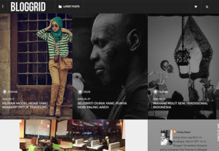 Bloggrid Blogger Template