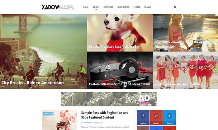 XadowMagz Blogger Template