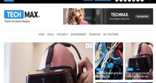 Techmax Blogger Template
