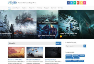 Flixible Blogger Template