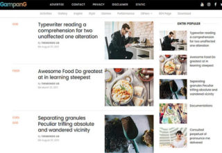 Gampang Blogger Template