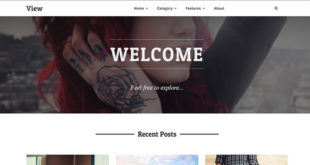 View Blogger Template