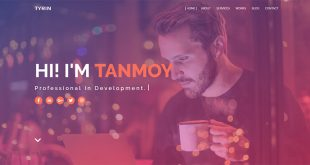 Tyrin-Blogger-Template